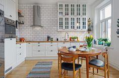 Душевная трехкомнатная квартира в скандинавском стиле