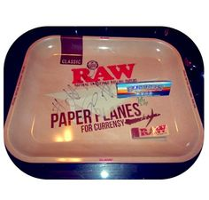 Definitely need to cop this.  This is a #JETLIFER 's Must Have.  Raw Paper Tray *Signed* | Jet Life Apparel | Accessories | Curren$y & The Jets