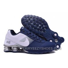 9585d18132c26 NIKE SHOX DELIVER 809 NAVY BLUE WHITE Christmas Deals PGYti Converse