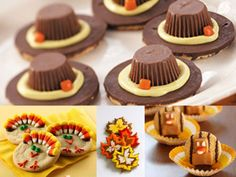 How cute are these Thanksgiving foods for kids!