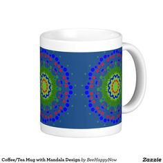 Coffee/Tea Mug with Mandala Design