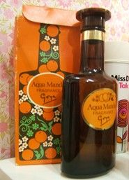 Aqua Manda is the perfume most associated with the early It has a orange blossom scent.