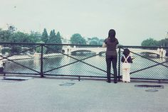 Double self portraits by inserting herself into childhood photos  by London-based Japanese photographer Chino Otsuka