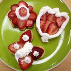 How to make Special Strawberry Shortcake Shapes.