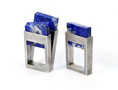 Rings | Helfried Kodré. Untitled 2011.  Sterling silver, Lapis lazuli