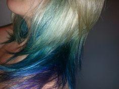 My peacock hair!!! :)