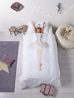 Ballerina Print Duvet Set - Indoor Living