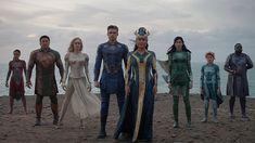 Richard Madden, Kit Harington, Salma Hayek, Angelina Jolie, Gemma Chan, Ms Marvel, Neil Gaiman, Tony Stark, Iron Man