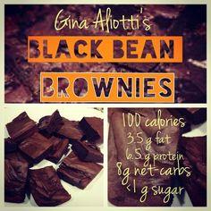 Gina Aliotti's Black Bean Brownies