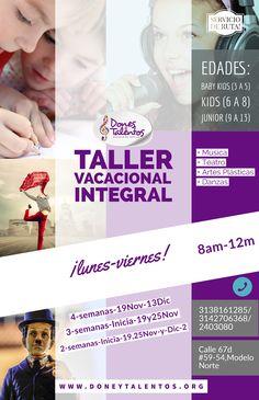 Niños a partir de 3 años hasta los 13. Música, Teatro, Artes plásticas, Danzas. Shopping, Arts Plastiques, Friday, Theater, Atelier