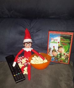 elf on the shelf movie night