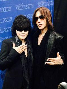 Toshi & Sugizo