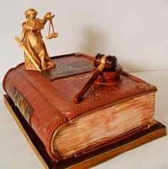 Birthday Cake for a Lawer