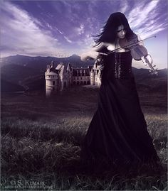 Melody for the Dead by Kechake on DeviantArt Stock Background, Gothic Art, Dark Night, Dark Beauty, Shutter Speed, Professional Photographer, Sell Your Art, Beautiful Images, Pixel Art