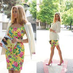 #bonprix #floraldress Lily Pulitzer, Thats Not My, My Style, Lady, Heels, Dresses, Fashion, Heel, Vestidos