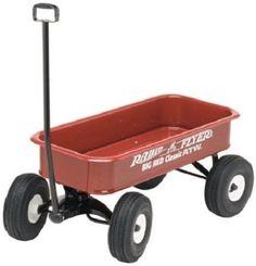 Radio Flyer Wagon Classic Big Red ATW All Terrain Kids Ride Pull Toy Fun New #RadioFlyer