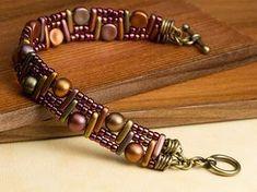 Tutorial DIY Bijoux et Accessoires Image Description Free Ideas: Artbeads.com - Temple Steps ~ Seed Bead Tutorials