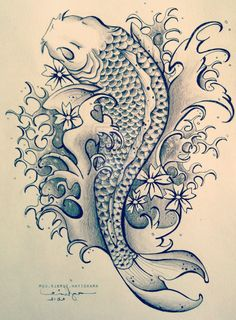 Best Koi Fish Tattoo Ideas