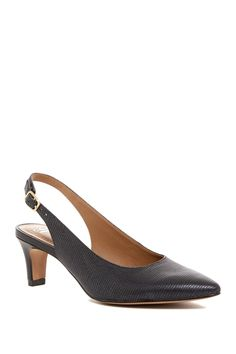 Crewso Riley Slingback Pump - Wide Width Available