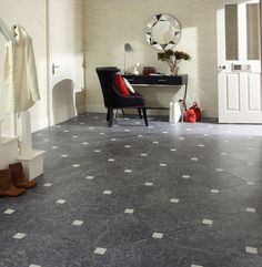 Thinking of updating the flooring in your home? Come and see Karndean Design Flooring at the Ideal Home Show Scotland 2015 Gold Interior, Luxury Interior Design, Interior Decorating, Hallway Flooring, Wood Laminate Flooring, Kitchen Flooring, Kitchen Dining, Dining Room, Types Of Flooring