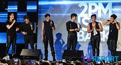 [MEDIA] 17052013 — 2PM IS BACK with Genie @ Gangnam Station M-Stage ⓒTV Report via NEWS NATE