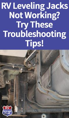 Learn what to do when you discover RV leveling jacks not working on your rig. Nip those noisy, malfunctioning hydraulics in the bud! Travel Trailer Living, Travel Trailer Camping, Rv Travel, Camper Life, Rv Campers, Rv Life, Tow Trailer, Rv Trailers, Travel Trailers