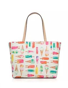 Kate Spade New York Flavor Of The Month Ice Cream Francis Tote