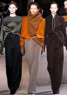 Tuxedo Girls by Fashion Designer Haider Ackermann