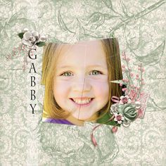 """""""Gabby"""" layout by Andrea Hutton"""