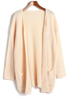 European style new autumn and winter 2013 women\'s wild double pockets and long sleeve knit cardigan sweater coat