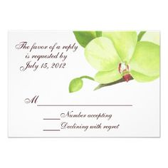 Discount DealsGreen orchid rsvp card personalized announcementYes I can say you are on right site we just collected best shopping store that have