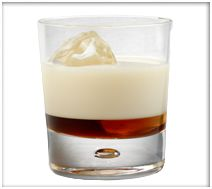 Honey Nut O's : Combine in glass with ice RumChata and (Jack Daniels) Honey whiskey (to taste) -- [OOO] (R) ------------------- FRENCH TOAST : Combine in glass with ice RumChata, maple whiskey. Party Drinks, Cocktail Drinks, Fun Drinks, Yummy Drinks, Alcoholic Drinks, Beverages, Cocktails, Cocktail Recipes, Drink Recipes