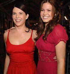 Lauren Graham and Mandy Moore at event of Because I Said So (2007)