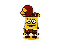 Spongebob Cartoon Decals Luggage Skateboard Laptop Bike Car | Etsy Spongebob Cartoon, Car Bomb, Waterproof Stickers, Skateboards, Helmets, Laptops, Guitars, Motorcycles, Decals