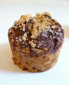Une recette rapide et facile de délicieux muffins lait de coco pépites de chocolat, super moelleux super gourmands