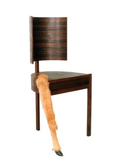 Chair from   The Meek Girl    Designed by Robert Wilson