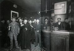 Interior of a London Pub, c.1898