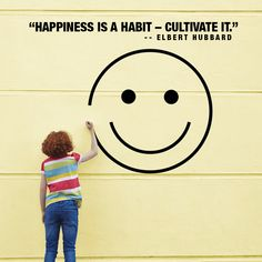 Today is the day to start making #happiness into a habit. More information for happiness from the voices of the community http://www.societybytesradio.com