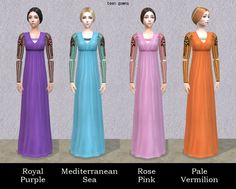 Italian Renaissance Hair and Gown for female by Renaissance Hairstyles, Renaissance Fashion, Italian Renaissance, Bridesmaid Dresses, Wedding Dresses, Sims Cc, Italian Style, Simple Style, Gowns