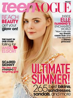 Go behind the scenes of Elle Fanning's cover shoot for Teen Vogue that hits stands June 3. http://di.sn/qZU