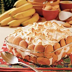 My favorite dessert of all time: Banana Pudding.