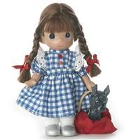 Precious Moments Dolls by The Doll Maker, Linda Rick, Dorothy, Wizard of Oz, 7 inch doll Wizard Of Oz Dolls, Wizard Of Oz Book, Dorothy Wizard Of Oz, Precious Moments Figurines, Vinyl Dolls, Vinyl Fabric, Doll Maker, Where The Heart Is, Doll Accessories