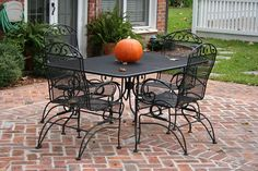 Wrought Iron Patio Chairs Metal Patio Furniture Sets Wrough Rod Iron Patio Furniture Luxury Patio Sets On Sale Chairish Wrought Iron Furniture Rod Iron Patio Set Fresh Patio String Lights Lowes Patio Furniture, Wrought Iron Outdoor Furniture, Wrought Iron Patio Chairs, Best Outdoor Furniture, Iron Furniture, Painting Furniture, Antique Furniture, Rustic Furniture, Office Furniture