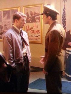 Chris as Steve without the effects. Steve Rogers & Bucky Barnes, Captain America: The First Avenger.