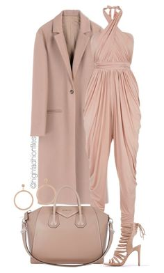 """Jumpsuit Chic"" by highfashionfiles on Polyvore featuring Harmony Paris, Carolina Bucci and Givenchy"
