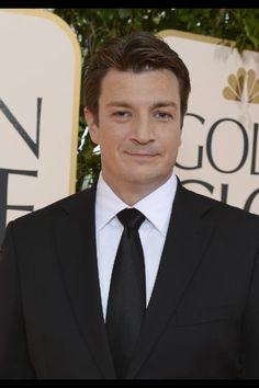 Nathan Fillion Firefly, Golden Globes, Castle, Castles