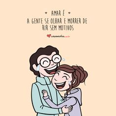 Frases cheias de carinho para você compartilhar com o seu amor Romantic Pictures, Love Pictures, King Of My Heart, When You Love, Our Love, Love Of My Life, Talk About Love, Cartoons Love, Love Post