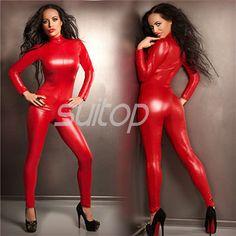 rubber catsuit latex zentai for woman customed bodysuit SUITOP Kim Kardashian
