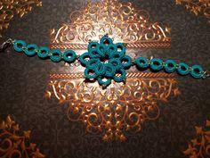 bracciale con fiore chiacchierino, by bijoux e co, 6,00 € su misshobby.com