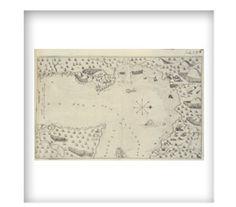 Exhibitions/Foundation/Québec, Plan of the harbour of Québec, plate from Les voyages du sieur de Champlain Xaintongeois..., Paris, Jean Berjon, 1613 CA BNC Réserve FC330 C3 1613